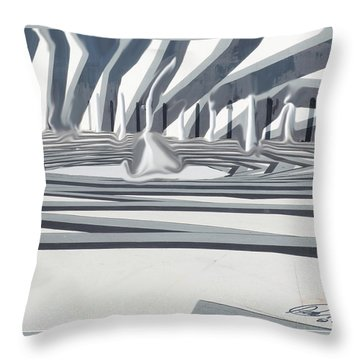 Pawns Throw Pillow