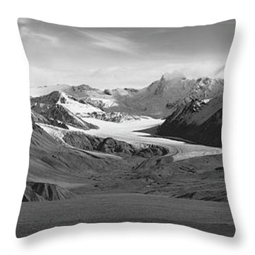 Paxson Glacier Wide Throw Pillow