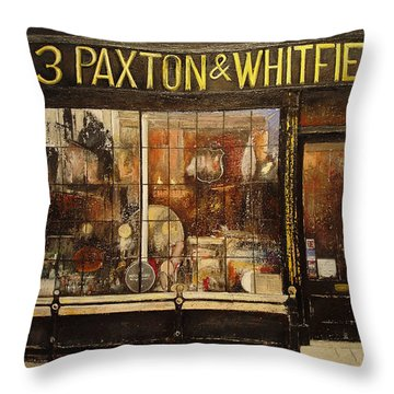 Paxton Whitfield .london Throw Pillow by Tomas Castano