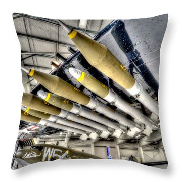 Payload 3 Throw Pillow