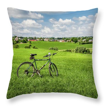 Pays De Herve Throw Pillow