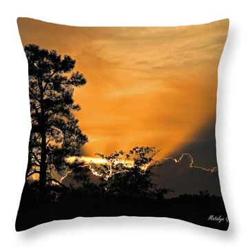 Payson Sunset Throw Pillow