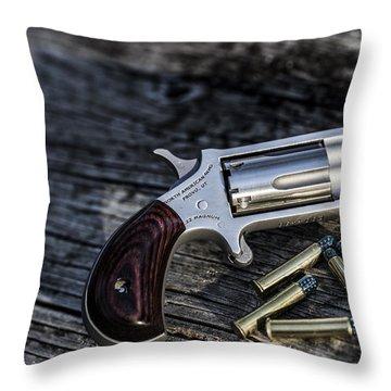 Pea Shooter Throw Pillow