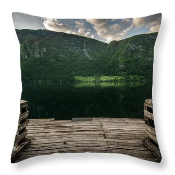 Peace And Clarity Throw Pillow
