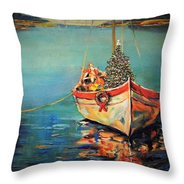 Peace At Christmas Throw Pillow