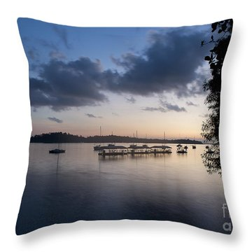 Peace Before Sunrise Throw Pillow