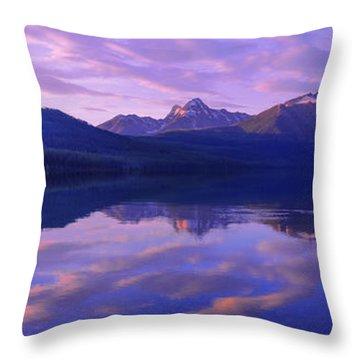 Glacier National Throw Pillows