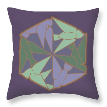 Peace Doves 6 Throw Pillow