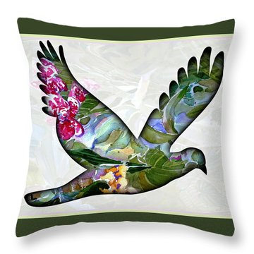 Peace For Peace Throw Pillow by Mindy Newman