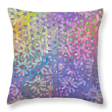 Peace II Throw Pillow