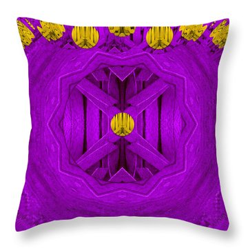 Peace In Colors Throw Pillow