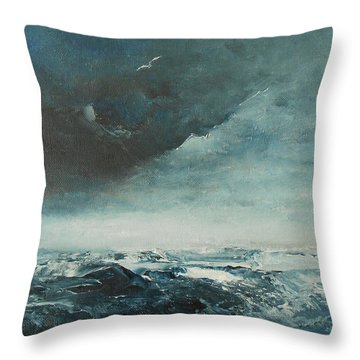 Peace In The Midst Of The Storm Throw Pillow