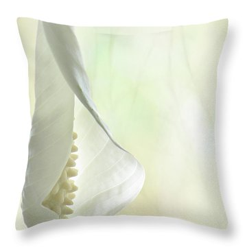 Peace Throw Pillow by John Poon