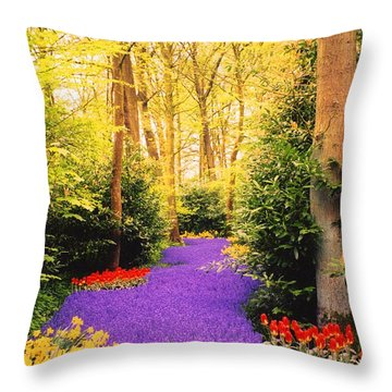 Peace, Like A River Throw Pillow