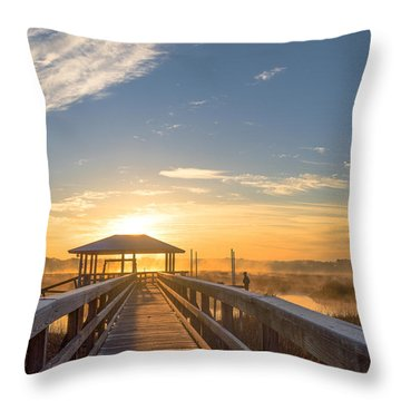 Throw Pillow featuring the photograph Peace by Margaret Palmer