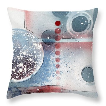 Peace Throw Pillow by Monte Toon