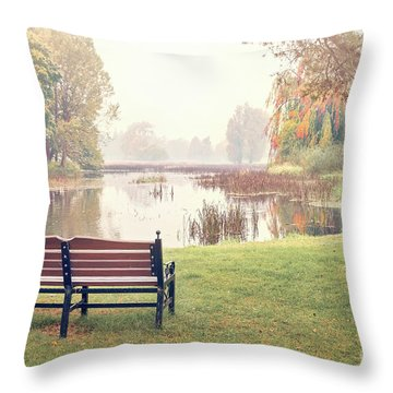 Peace Of Autumn Throw Pillow