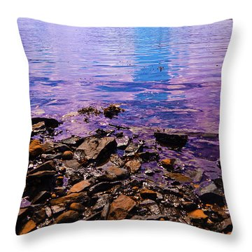 Peace Of Colors  Throw Pillow