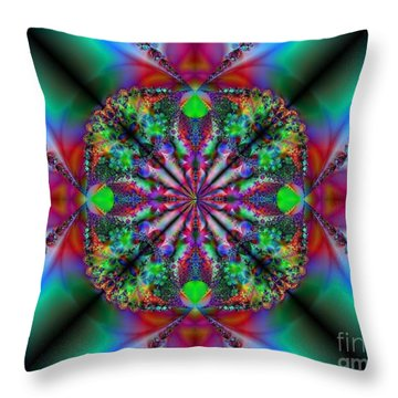 Peace Of Mind Throw Pillow by Misha Bean