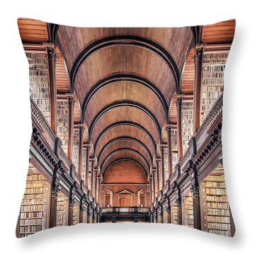 Peace Of Paper Throw Pillow