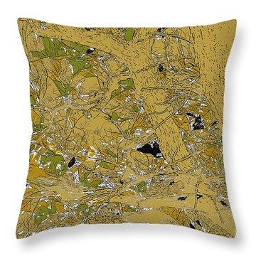 Peace Throw Pillow by Renie Rutten