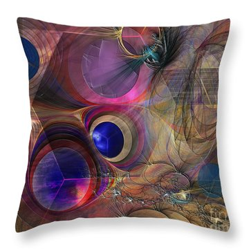 Peace Will Come Throw Pillow by John Robert Beck