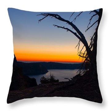 Throw Pillow featuring the photograph Peaceful And Serene  by Laura Ragland