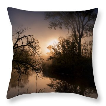 Peaceful Calm Throw Pillow