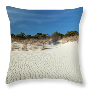 Throw Pillow featuring the photograph Peaceful Cape Cod by Michelle Wiarda