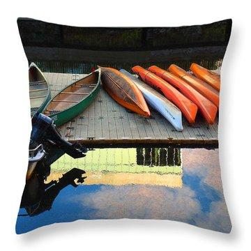 Peaceful Day Throw Pillow