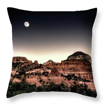 Peaceful Easy Feeling Throw Pillow by Jim Hill