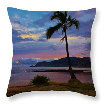 Peaceful Feeling Throw Pillow
