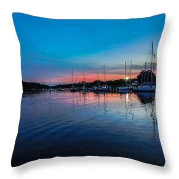 Peaceful Horizons  Throw Pillow