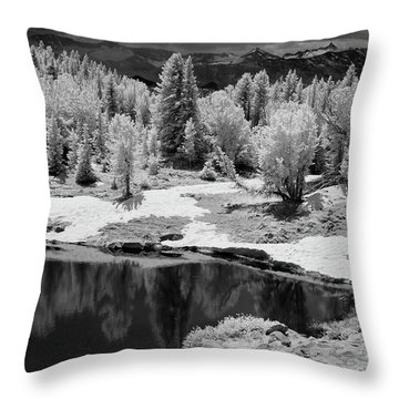 Peaceful Ir Throw Pillow