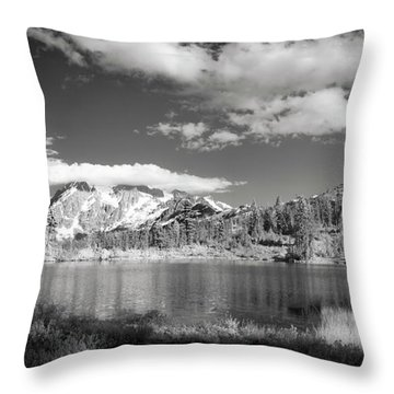 Throw Pillow featuring the photograph Peaceful Lake by Jon Glaser