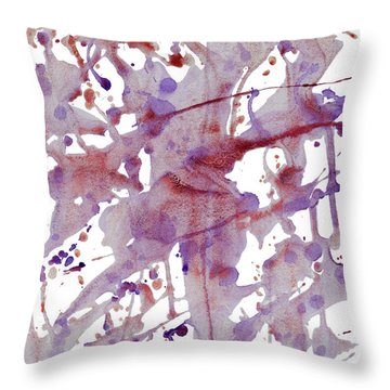 Peaceful Pink Throw Pillow