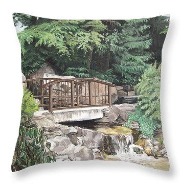 Peaceful Place Throw Pillow
