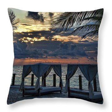 Peaceful Playa Throw Pillow