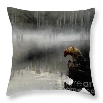 Peaceful Reflection Throw Pillow