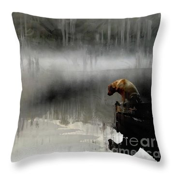 Peaceful Reflection Throw Pillow