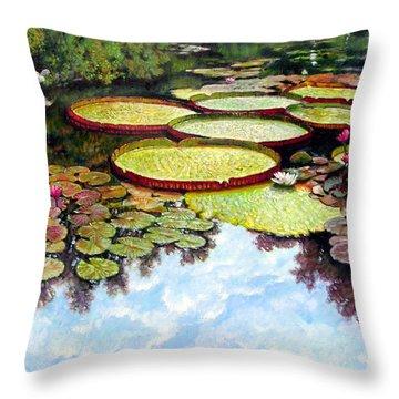 Peaceful Refuge Throw Pillow