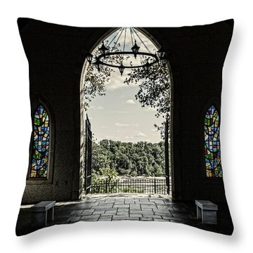 Peaceful Resting  Throw Pillow