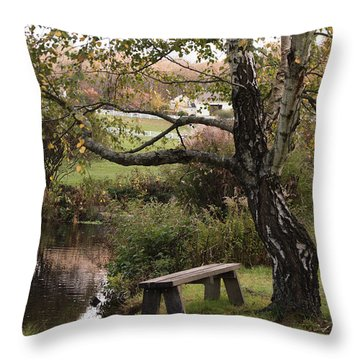 Peaceful Retreat Throw Pillow