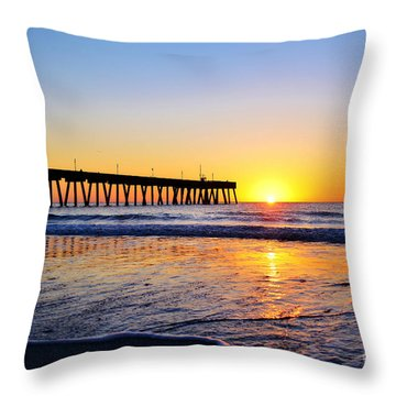 Peaceful Sunrise Throw Pillow