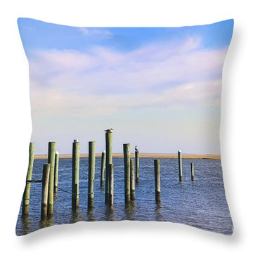 Throw Pillow featuring the photograph Peaceful Tranquility by Colleen Kammerer