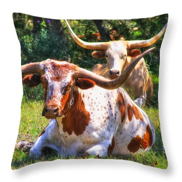 Peaceful Weapons Throw Pillow