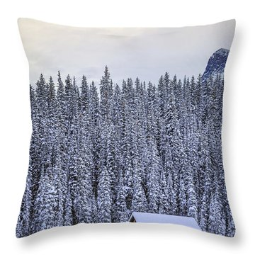 Peaceful Widerness Throw Pillow