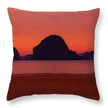 Peaceful Work Enviroment Throw Pillow