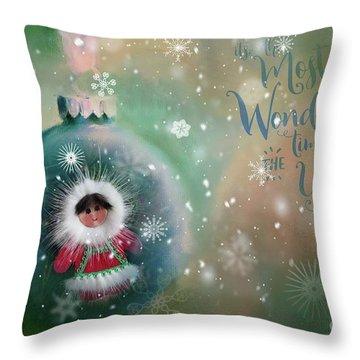 Peace,love,joy Throw Pillow