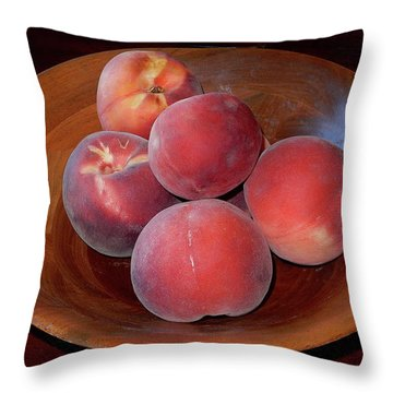 Peachykeen Throw Pillow